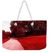 Walking On Mars Weekender Tote Bag
