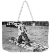 Walking On San Francisco Bay Weekender Tote Bag