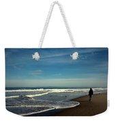 Walking On Seaside Beach Weekender Tote Bag