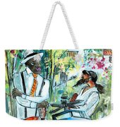 Walking Stick Man At The Blues Festival In Cazorla Weekender Tote Bag