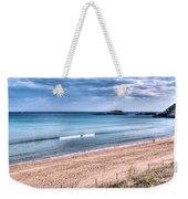 Walking The Beach On A Peaceful Morning Weekender Tote Bag