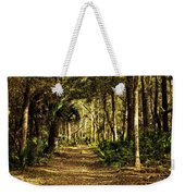 Walking The Bluff Artistic Weekender Tote Bag
