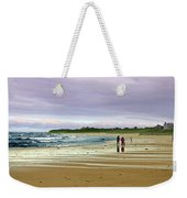 Walking The Dog After A Storm Weekender Tote Bag