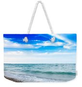 Walking The Shore - Extended Weekender Tote Bag by Steven Santamour