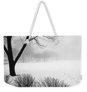 Walking Through A Winter Wonderland Weekender Tote Bag
