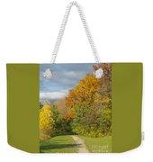 Walking Through Autumn Weekender Tote Bag