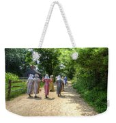 Walking To School Weekender Tote Bag