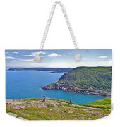 Walking Trails Everywhere In Signal Hill National Historic Site In St. John's-nl  Weekender Tote Bag