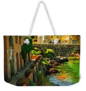 Walkway Along The River - Cascais Weekender Tote Bag