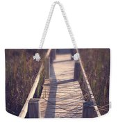 Walkway Through The Reeds Appalachian Trail Weekender Tote Bag by Edward Fielding