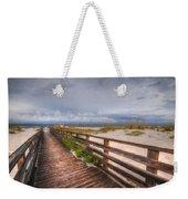 Walkway To The Beach At Romar Access Weekender Tote Bag