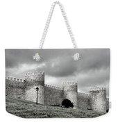 Wall Against Clouds Weekender Tote Bag