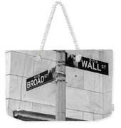 Wall And Broad Weekender Tote Bag