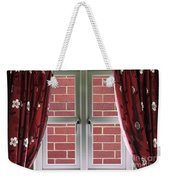 Wall Build Close To A Closed Window Weekender Tote Bag