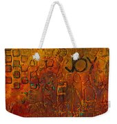 Wall Carvings Weekender Tote Bag