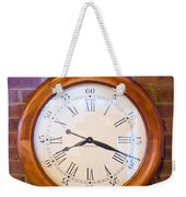 Wall Clock 1 Weekender Tote Bag