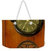 Wall Clock And Plague Weekender Tote Bag