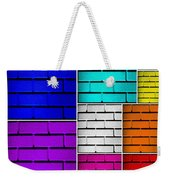 Wall Color Wall Weekender Tote Bag by Semmick Photo