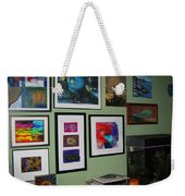 Wall Of Framed Weekender Tote Bag
