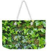 Wall Of Ivy Weekender Tote Bag