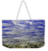 Wall Of Silver Fish Weekender Tote Bag