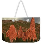 Wall Of The Gods Weekender Tote Bag