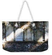 Wall Of Tombstones Knocked Down During Civil War Weekender Tote Bag