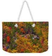Wall Of Trees Weekender Tote Bag