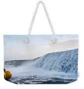Wall Of Water Weekender Tote Bag