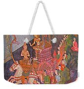 Wall Painting At Wat Suthat In Bangkok-thailand Weekender Tote Bag