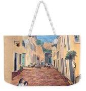 Wall Painting In Provence Weekender Tote Bag