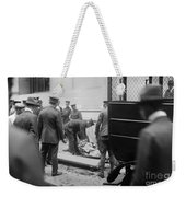 Wall Street Bombing, 1920 Weekender Tote Bag