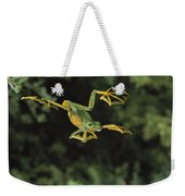 Wallaces Flying Frog Weekender Tote Bag