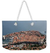 Walled City Of Dubrovnik Weekender Tote Bag