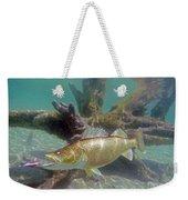 Walleye And Dardevle Weekender Tote Bag
