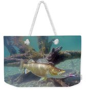 Walleye Pike And Dardevle Weekender Tote Bag