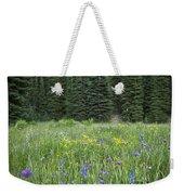 Wallowa Wildflowers Weekender Tote Bag
