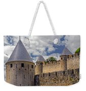 Walls Of Carcassonne Weekender Tote Bag