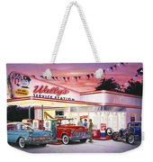 Wallys Service Station Weekender Tote Bag