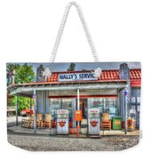 Wally's Service Station Weekender Tote Bag by Dan Stone