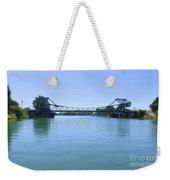 Walnut Grove Bascule Bridge Weekender Tote Bag