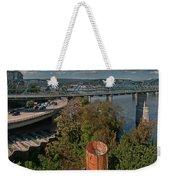Walnut Street Bridge Chattanooga Weekender Tote Bag