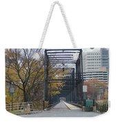 Walnut Street Bridge Looking At Harrisburg Weekender Tote Bag