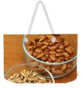 Walnuts And Almonds Weekender Tote Bag