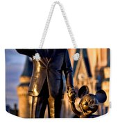 Walt And Mickey Weekender Tote Bag