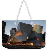 Walt Disney Concert Hall 21 Weekender Tote Bag by Bob Christopher