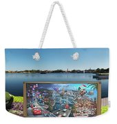 Walt Disney World Cars 2 Digital Art Composite 02 Weekender Tote Bag