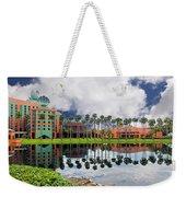 Walt Disney World Swan Hotel  Weekender Tote Bag