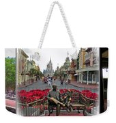 Walt Disney World Transportation 3 Panel Composite 02 Weekender Tote Bag