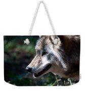 Wandering Wolf Weekender Tote Bag